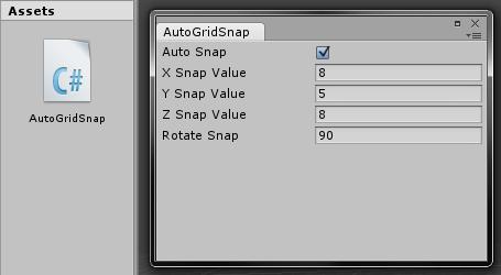 AutoGridSnap Script